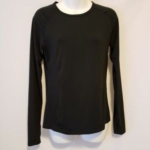 Danskin Now Black Long Sleeve
